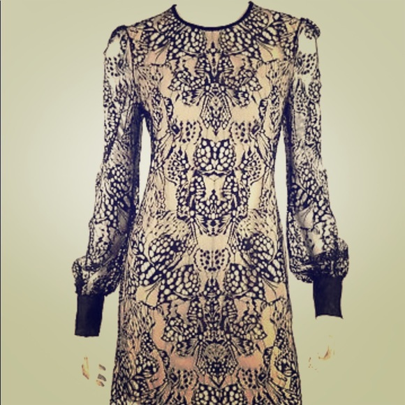 aa7078b1971e Alexander McQueen Dresses | Butterfly Lace Mini Dress Nwt 44 | Poshmark